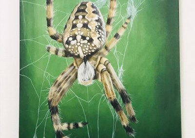 Paint Decoratieschilder Paneel spin