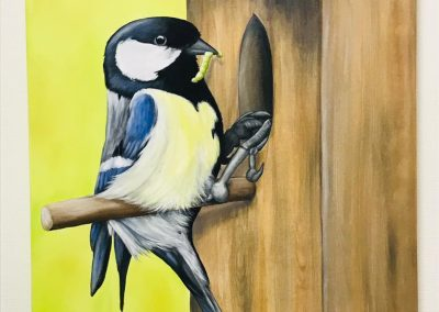 Paint Decoratieschilder Paneel Vogel