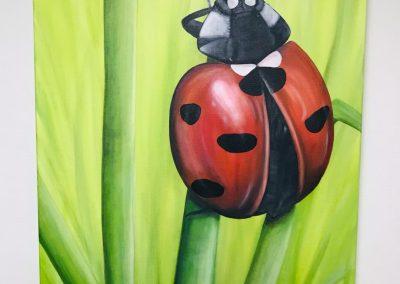 Paint Decoratieschilder Paneel Lieveheersbeestje