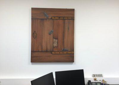 Paneel torren schilderij