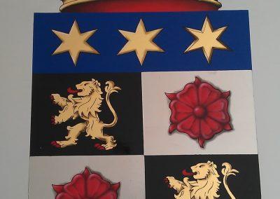 Paint Decoratieschilder familiewapen