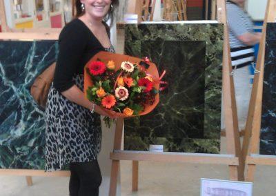 Paint Decoratieschilder bos bloemen