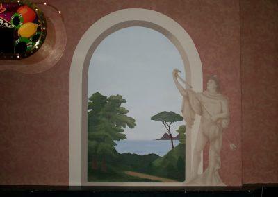 Muurschildering funcorner