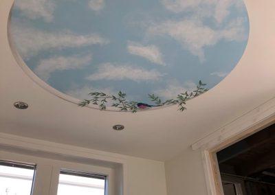 Plafond schildering