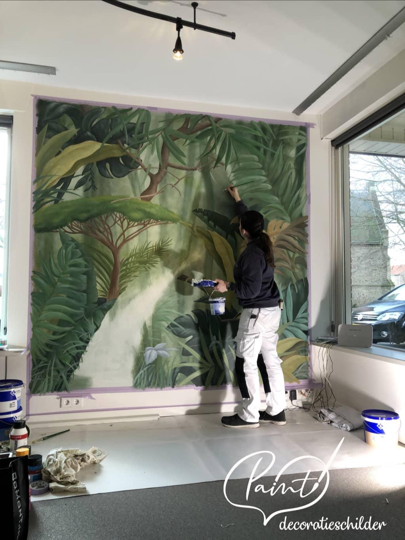 Paint Decoratieschilder Werkwijze 2